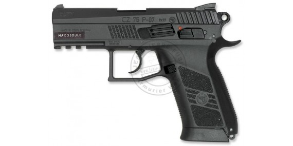 ASG CZ 75 P-07 Duty CO2 pistol - .177 bore (2.5 joules)