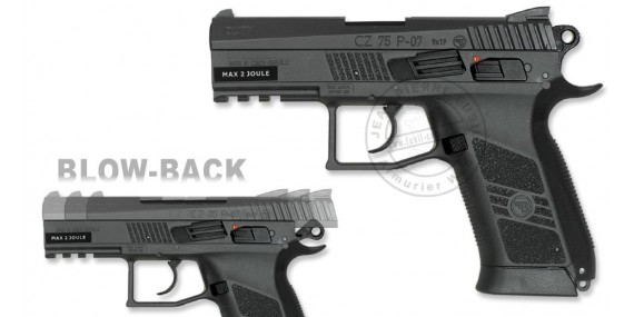 ASG CZ 75 P-07 Duty - Blowback CO2 pistol - .177 bore (2 joules)