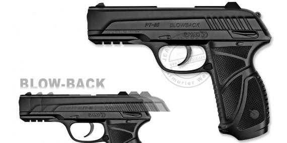 GAMO PT-85 Blowback Co2 pistol - .177 rifle bore (3,98 joules)
