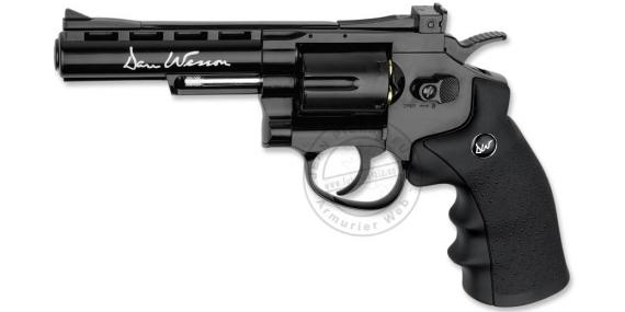 Revolver 4,5 mm CO2 ASG Dan Wesson 4'' - Noir (1,9 joules)