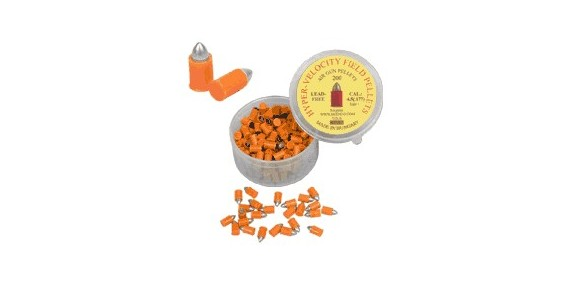 Ogival metal pellets (orange) - .177- x200