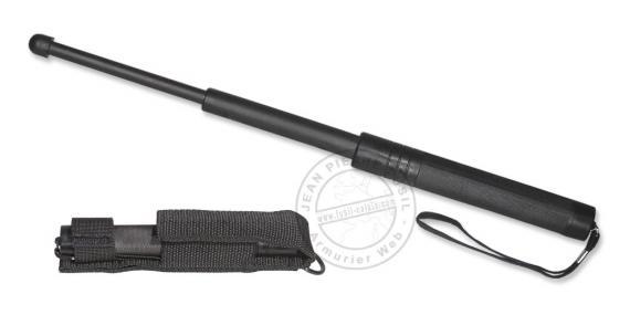 Matraque télescopique Nylon rigide noire ( 41 cm )