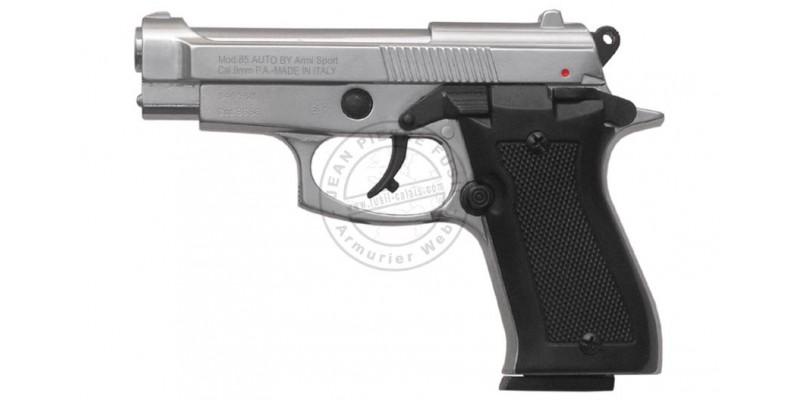 Pistolet alarme KIMAR Mod. 85 nickelé Cal. 9mm