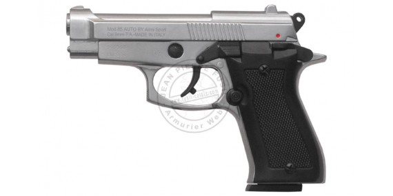 KIMAR Mod. 85 blank firing pistol - Nickel plated - 9mm blank bore