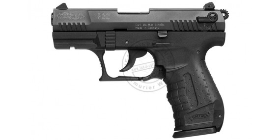 UMAREX P22 blank firing pistol - Black - 9mm blank bore