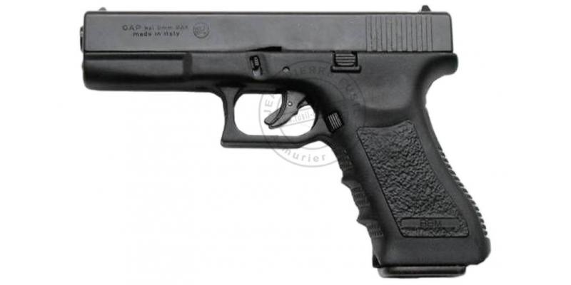 Pistolet alarme BRUNI GAP noir Cal. 9mm - Copie Glock 17