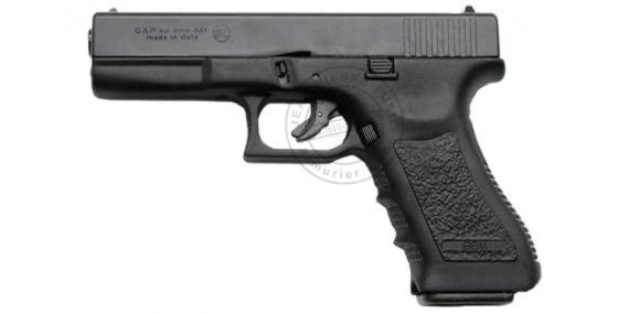BRUNI GAP blank firing pistol - Black - 9mm blank bore