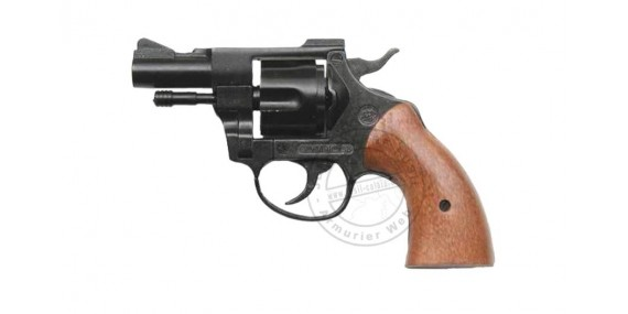 BRUNI OLYMPIC blank firing revolver - Black - 9mm blank bore