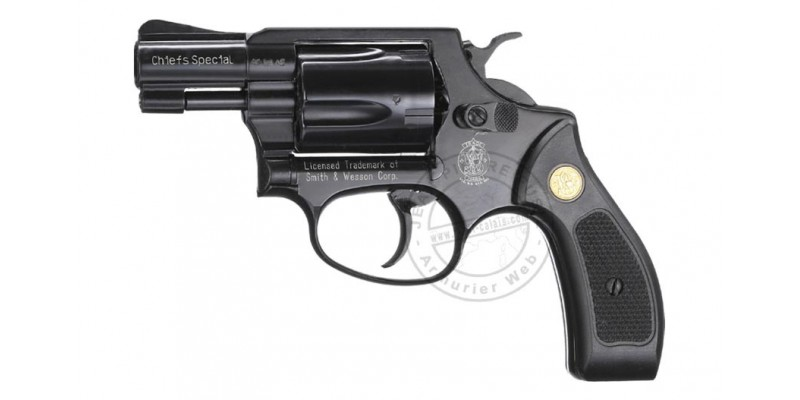 Revolver alarme UMAREX SMITH & WESSON noir Cal. 9mm