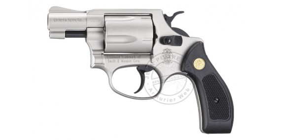 UMAREX SMITH & WESSON blank firing revolver - Nickel - 9mm blank bore