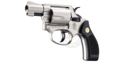 Revolver alarme UMAREX SMITH & WESSON nickelé Cal. 9mm