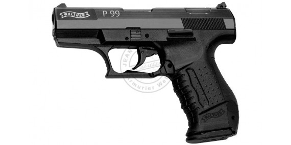 UMAREX P99 blank firing pistol - Black - 9mm blank bore