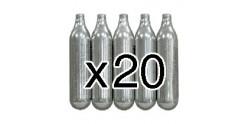 CO2 cartridges 12g (x20)