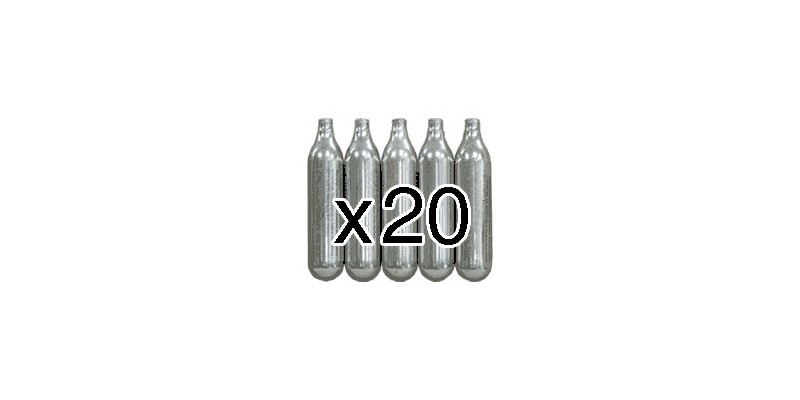 CO2 cartridges 12g (x20)