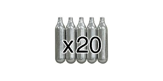 Bonbonnes CO2 12g (x20)