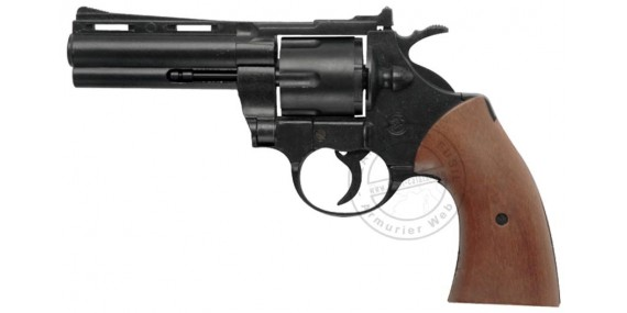 BRUNI PYTHON blank firing revolver - Black - 9mm blank bore