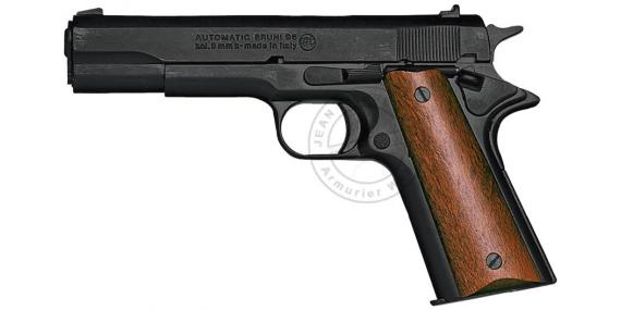 BRUNI Mod. 96 blank firing pistol - Black - 9mm blank bore