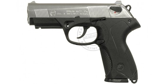BRUNI Mod. P4 blank firing pistol - Bicolore - 9mm blank bore