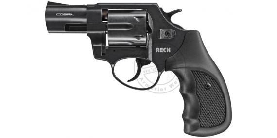Revolver d'alarme UMAREX RECK Cobra RG89 noir Cal. 9mm