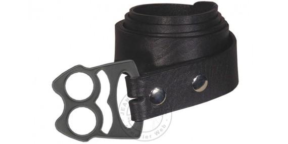 Belt knuckle-duster - Black