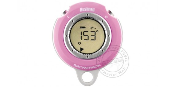 Boussole GBUSHNELL Backtrack GPS Compass - PinkPS BUSHNELL Backtrack - Rose