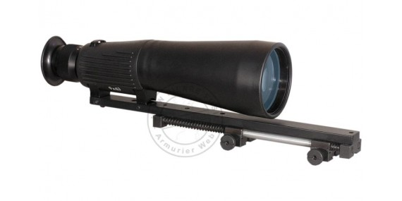 9x63 hut scope + aborber mount + case
