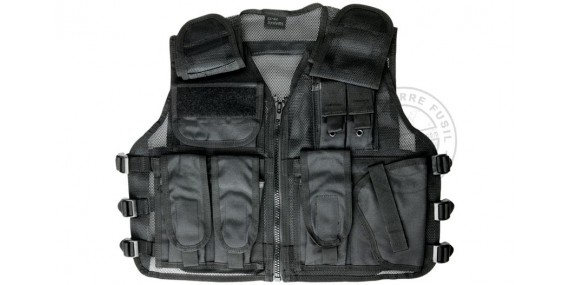 Air Soft tactical jacket - ASG Strike Systems Recon - Black
