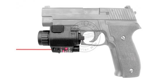 Compact laser sight and flashlight