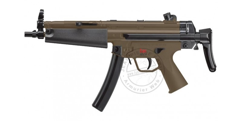 Pistolet Mitr. Soft Air Electrique HECKLER & KOCH MP5 Navy desert