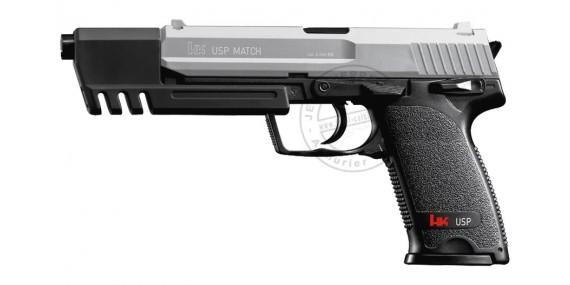 HECKLER & KOCH USP Match Soft Air pistol - Nickel