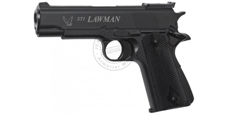 Pistolet Soft Air à gaz - ASG STI Lawman