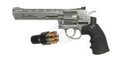 ASG Dan Wesson 6'' CO2 revolver kit - Nickel - .177 bore (3 joules) - PROMO NOEL