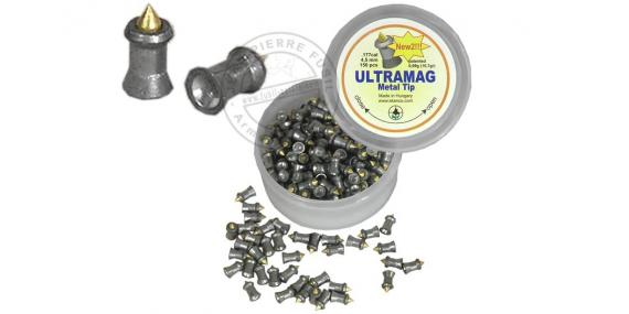Plombs Ultramag 4,5mm / 150 pour carabine