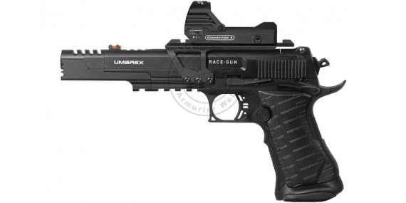 UMAREX Race Gun Set CO2 pistol - .177 bore (2,6 joules) + Green dot sight
