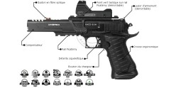 UMAREX Race Gun CO2 pistol - .177 bore (2,6 joules)