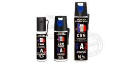 Set of 3 self-defence sprays CS gas - PROMOTION