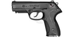 BRUNI Mod. P4 blank firing pistol - Black - 9mm blank bore