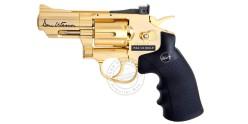 Revolver 4,5 mm CO2 ASG Dan Wesson 2,5'' - Doré (1,7 joules) - SERIE LIMITEE