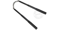 Telescopic nunchaku metal - Black - Chain