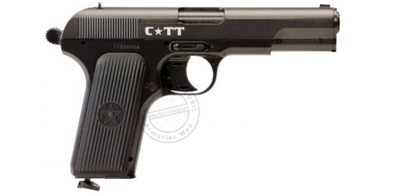 Pistolet à plomb CO2 4.5 mm CROSMAN C TT RUSSIAN (2,45 joules)