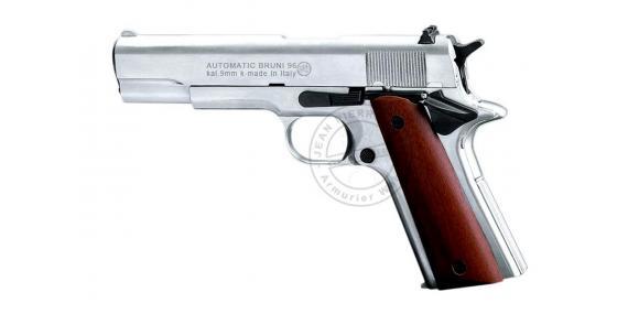 Pistolet alarme BRUNI Mod. 96 nickelé Cal. 9mm