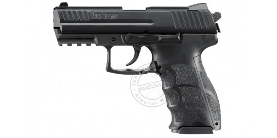 HECKLER & KOCH P30 blank firing pistol - Black - 9 mm blank bore
