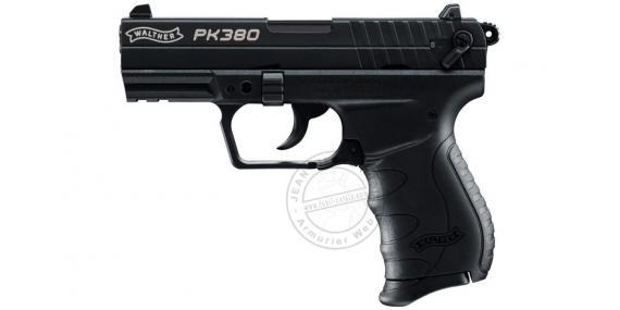 WALTHER PK380 blank firing pistol - Black - 9mm blank bore