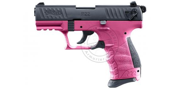 WALTHER P22Q blank firing pistol - Wildberry Edition - 9mm blank bore