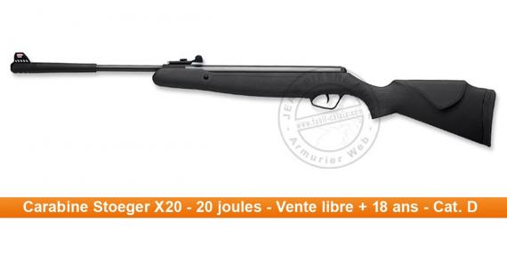 STOEGER X20 Air Rifle - .177 rifle bore (20 joules)