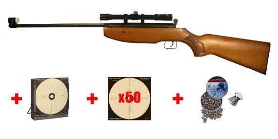 MANUARM MA1 airgun pack - .177 rifle bore (10 joules) - PROMO NOEL 2013