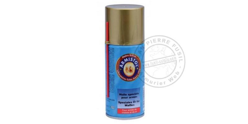 Huile d'entretien pour arme Armistol - Spray 150 ml