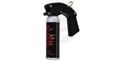 Bombe de défense Red Force - 100 ml gel poivre pigmenté rouge