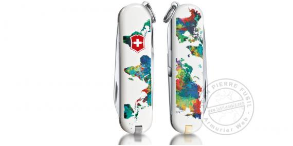 VICTORINOX knife - The World - My home - Classic 5p