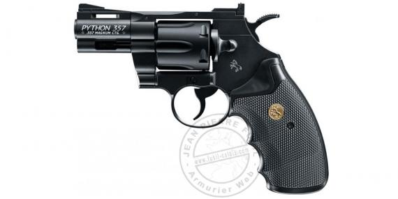 """Revolver 4,5 mm CO2 UMAREX - COLT Python 2.5"""" - Noir"""